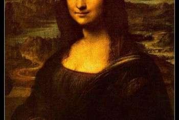 راز نقاشی لبخند مونالیزا